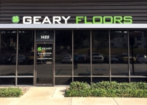 Channel letters for Geary Floors