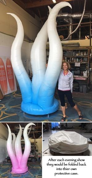 inflatable anemone sea world