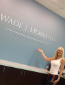 Wade-Howard office sign