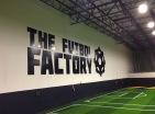 futball wall mural