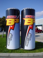 giant inflatable cans
